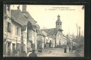 AK Treignac, L`Eglise des Pénitents, Kirche