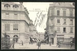 AK Brive, Rue de l`Hôtel de Ville, Ortspartie