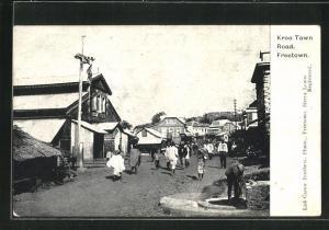 AK Freetown, Kroo Town Road