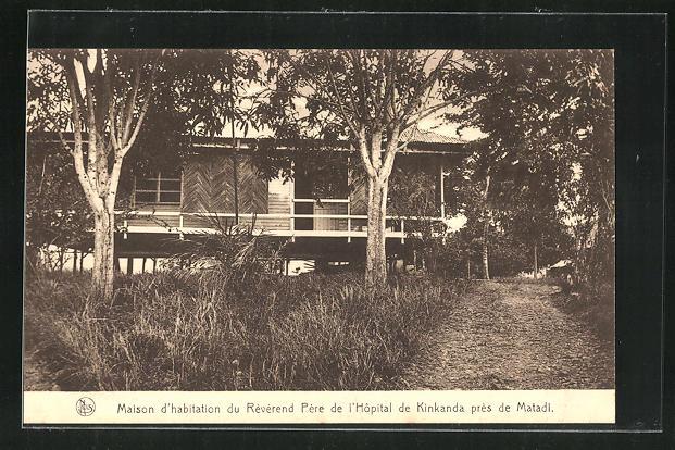 AK Matadi, Maison d'habitation du Reverend Pere de l'Hopital de Kinkanda 0