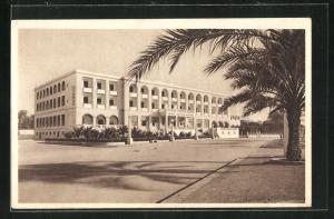 AK Bengasi, Grande Albergo Berenice, Hotel