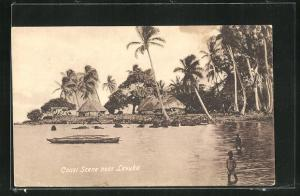 AK Fiji, coast scene near Levuka