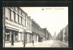 AK Audenarde, La rue de la Station