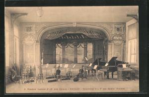 AK Eecloo, Théâtre Institut N.-D. aux Epines, Leeres Orchester
