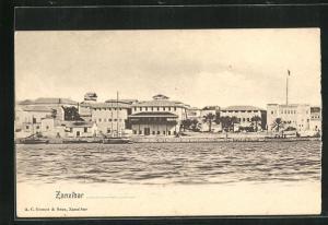 AK Zanzibar, Partie am Hafen