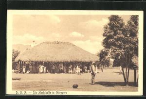 AK Morogoro, Blick auf die Markthalle