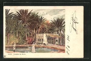 AK Suez, Fontaine de Moise