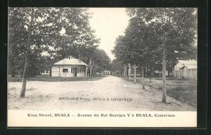 AK Duala, King Street / Avenue du Roi Georges V.