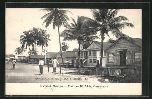 AK Duala, Strassenpartie an der Marina