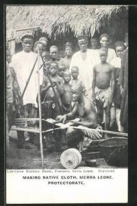 AK Sierra Leone, Making Native Cloth