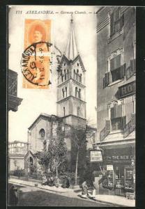 AK Alexandrie, Eglise Allemande