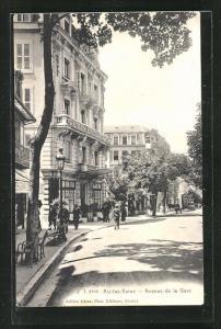 AK Aix-les-Bains, Avenue de la Gare