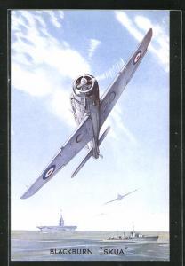 AK Blackburn Skua, britisches Kampfflugzeug