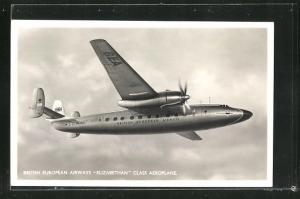 AK British European Airways Elizabethan Class Aeroplane, Flugzeug