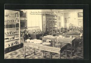 AK Mons, Ecole des Mines et de Metallurgie, Faculte technique du Hainaut, Laboratoire de Geologie