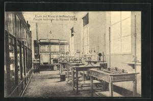 AK Mons, Ecole des Mines et de Metallurgie, Faculte technique du Hainaut, Laboratoire d'electrometrie II.