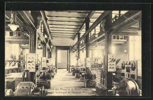 AK Mons, Ecole des Mines et de Metallurgie, Faculte technique du Hainaut, Laboratoire d'electrotechnie, grand hall nord