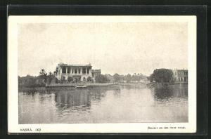 AK Basra, Houses on the river front