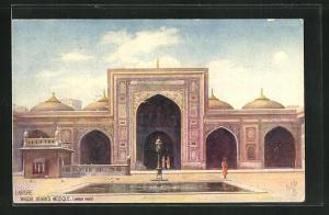 Künstler-AK Lahore, Wazir Khan's Mosque