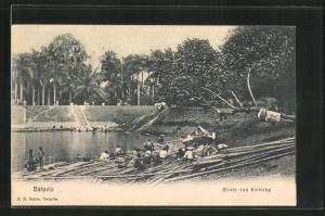 AK Batavia, Rivier van Kwitang