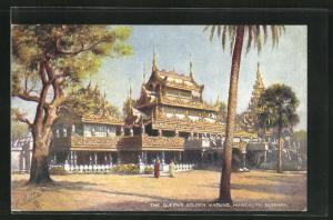 Künstler-AK Mandalay, the Queens Golden Kyoung
