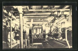 AK Mons, Ecole des Mines, Machine a vapeur compound 110 HP
