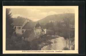 AK Luxemburg, Vogelmühle, Grundhof