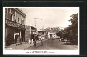 AK Aden, Steamer point, View of the Crescent, Shopping Center