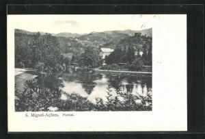 AK S. Miguel, Frunas, Panorama mit See