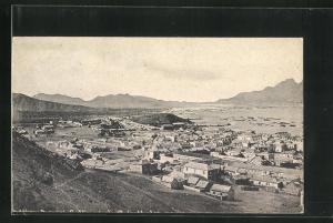 AK Kap Verde, Panoramablick vom Berg