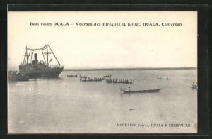 AK Duala, Boats races, Courses des Pirogues