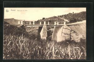 AK Matadi, Pont sur un ravin