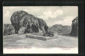 AK Simbabwe, Rhodes'Grave in the Matoppos