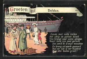 AK Delden, Groeten uit Delden