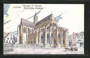 AK Louvain, Église Saint Pierre