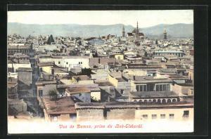 AK Damas, Vue de Damas prise du Bab-Elcharki