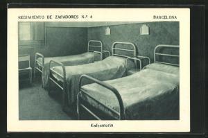 AK Barcelona, Regimiento de Zapadores No. 4, Enfermeria