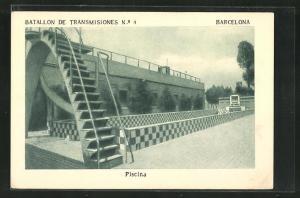 AK Barcelona, Regimiento de Zapadores No. 4, Piscina