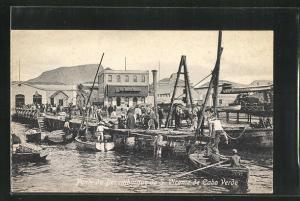 AK S. Vicente, Ponte de Dezembarque