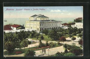 AK Funchal /Madeira, Theatro e Jardim Publico