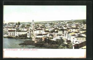 AK Ponta-Delgada /St. Michael`s, Panorama