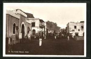 AK Aden, People on the Crater Bazaar