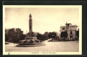 AK Guelma, Place du Monument