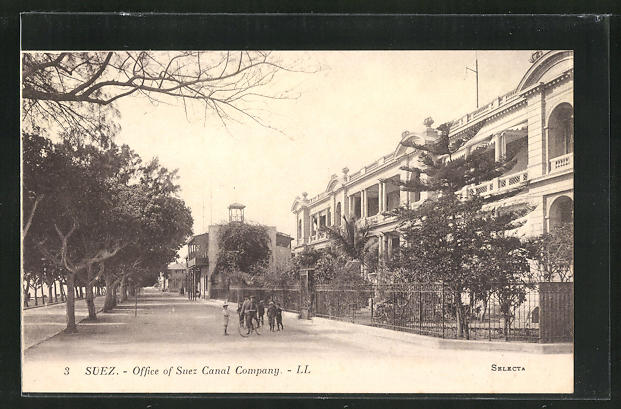 AK Suez, Office of Suez Canal Company 0