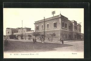 AK Suez, People before the Government House