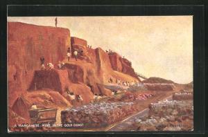 AK Ghana, A Manganese Mine in the Gold Coast