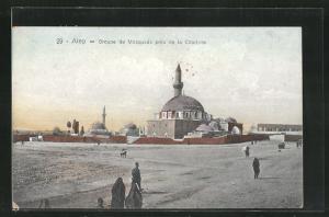 AK Alep, Groupe de Mosquees pres de la Citadelle