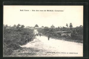 AK Duala, Une des rues