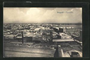 AK Tripoli, Panoramablick über den Ort
