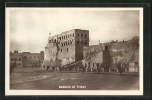 AK Tripoli, Castello, Blick auf das Schloss